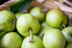 Korb von Äpfeln Lizenzfreies Stockfoto