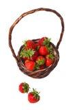 Korb von Erdbeeren Lizenzfreie Stockfotografie