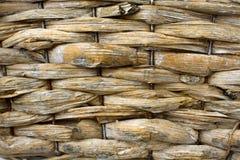 Korbflechtenmuster Stockbilder