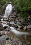 Korbu waterfall on Altai Royalty Free Stock Photos