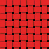 Korbwaren-rote abstrakte Beschaffenheit für Hintergrund Stockbild
