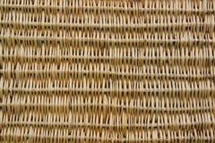 Korbwarenhintergrund Aus Weiden geflochtene hölzerne Beschaffenheit Stockbilder