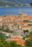 Korcula. Κροατία Στοκ εικόνες με δικαίωμα ελεύθερης χρήσης