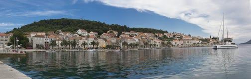 korcula острова Хорватии Стоковое Изображение RF