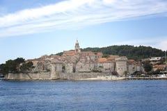 korcula острова Хорватии Стоковые Фото