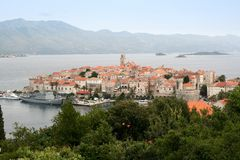 Korcula Photo stock