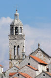 Korcula. City of Korcula on the island of Korcula in Croatia Royalty Free Stock Photography