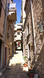 Korcula Alley Stock Images