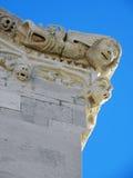 Korcula ancient artwork details,Croatia,12 Royalty Free Stock Photos