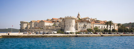 Korcula city Royalty Free Stock Image