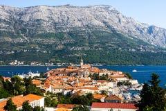 Korcula city Croatia Royalty Free Stock Images
