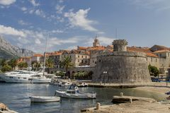 Korcula, Croatia Royalty Free Stock Images
