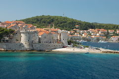 Korcula, Croatie Photos stock