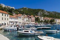 Korcula, Croatie Photos libres de droits