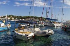 Korcula, Croatie Image stock