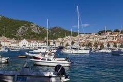 Korcula, Croatie Images stock