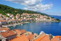 Korcula island in Croatia, Europe. Summer destination Stock Photos