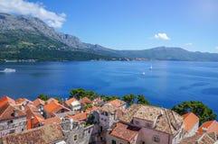 Korcula island in Croatia, Europe. Summer destination Stock Image