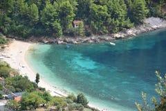 Korcula Island landscape - Croatia Stock Image