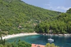 Korcula Island landscape - Croatia Royalty Free Stock Images