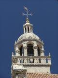 Korcula Kathedrale Stockfoto