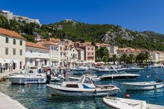 Korcula, Kroatië Royalty-vrije Stock Foto's