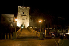 Korcula at night Royalty Free Stock Image