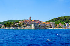 Korcula Old City Royalty Free Stock Photography