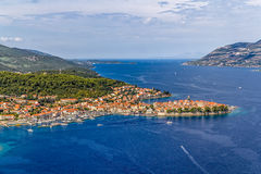 Korcula old town Stock Photography