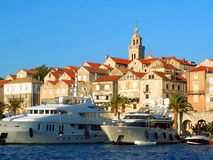 Korcula Old Town Royalty Free Stock Photo