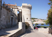 Korcula Tower Royalty Free Stock Photos