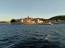 Korcula town Royalty Free Stock Photos