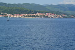 Korcula town and island  - Croatia Royalty Free Stock Photography