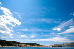 Korcula wide Royalty Free Stock Image