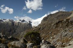 Kordilleren mountain_1 Lizenzfreies Stockbild