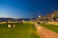 Kordon, Izmir Royalty Free Stock Photography