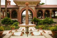 Kordzik fontanny Flagler szkoła wyższa zdjęcie royalty free