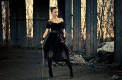 kordzik kobieta Zdjęcie Royalty Free