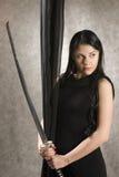 kordzik piękna kobieta Fotografia Royalty Free