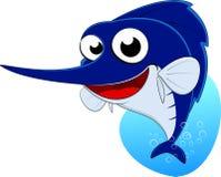 Kordzik ryba, Błękitnego Marlin ryba Zdjęcie Royalty Free
