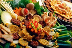 koreańczyk żywności zdjęcie royalty free