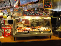 Koreańczyka BBQ kram Zdjęcie Stock