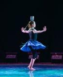 Koreańczyka odgórnego pucharu krajowy ludowy taniec zdjęcia stock