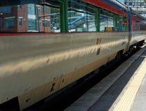 Koreańczyka pociąg przy Shintanjin StationStation Zdjęcia Stock
