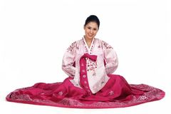 koreańska lady Zdjęcia Stock