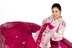 koreańska lady fotografia stock