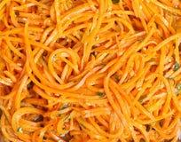 Koreańska marchewka zdjęcie stock