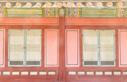 Koreańska tradyci ściana Zdjęcie Stock