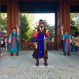 Koreański żołnierz Zdjęcia Royalty Free
