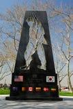 koreański pamiątkowy nowy wojenny York zdjęcie stock
